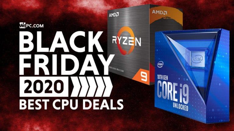 Black Friday CPU Deals in 2020