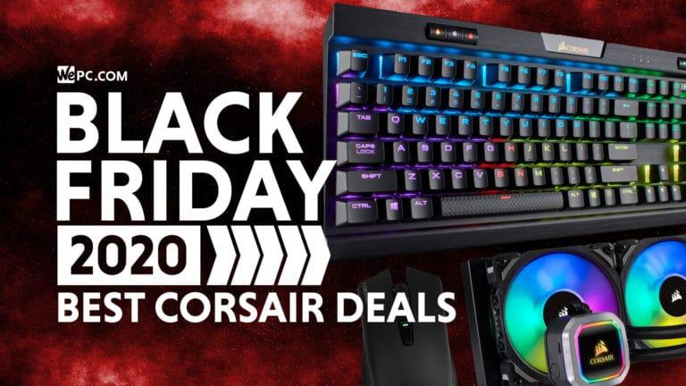 Corsair Black Friday Deals 2020