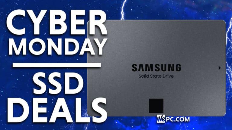 Cyber Monday SSD Deals