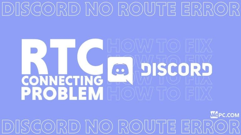 How To Fix Discord RTC Connecting Problem Discord No Route Error 01