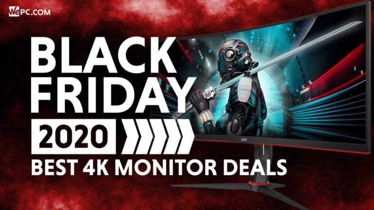 Black Friday 4K Monitor Deals