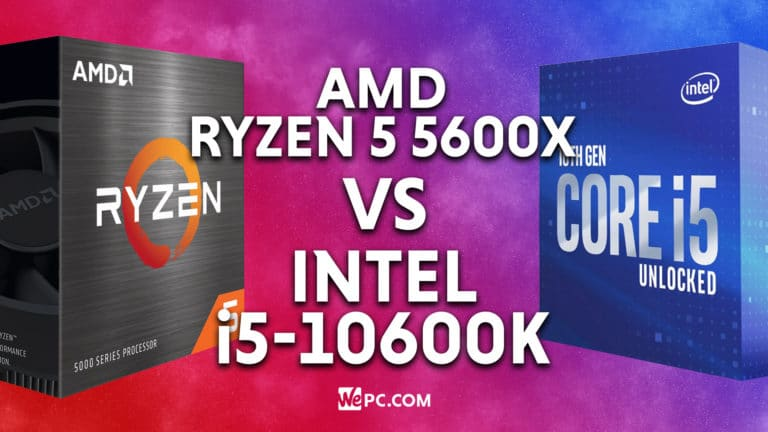 5600X vs i5 10600K