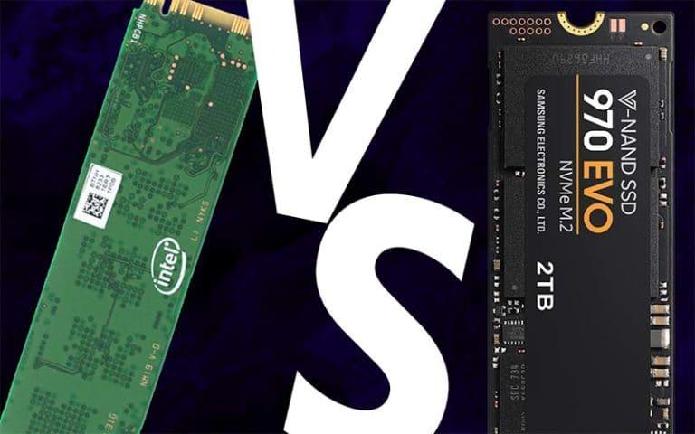 Intel 660p vs 970 EVO