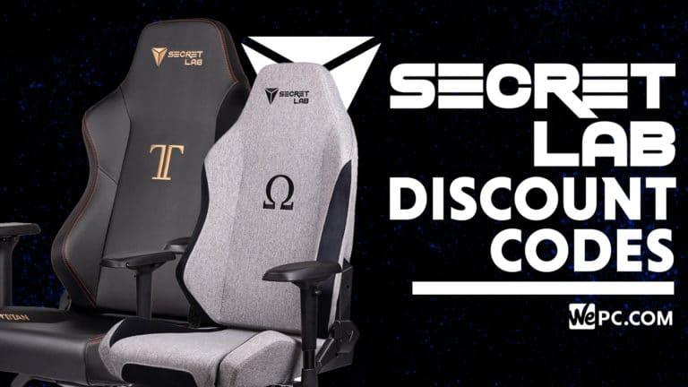 Secretlab discount codes