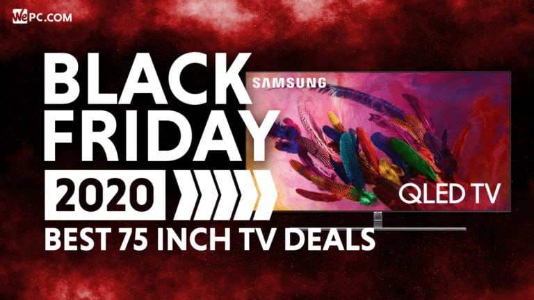 WePC 75 Inch TV BF