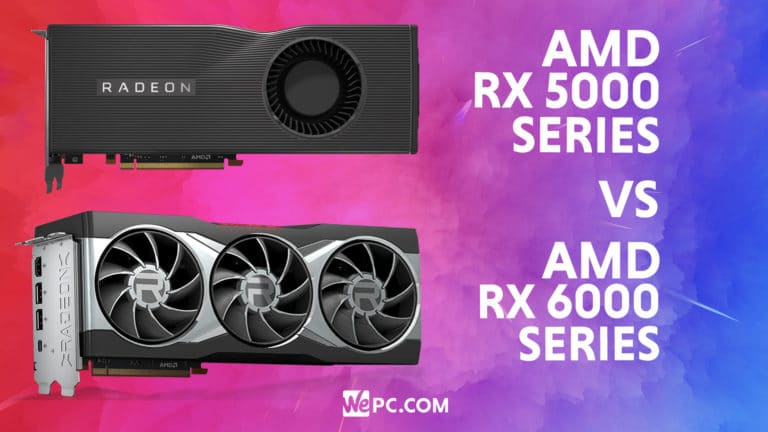 AMD RX 6000 vs RX 5000 gpu comparison