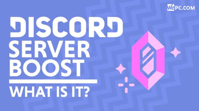 Discord Nitro Server Boost