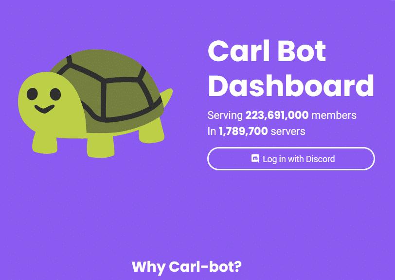 Carl Bot Discord