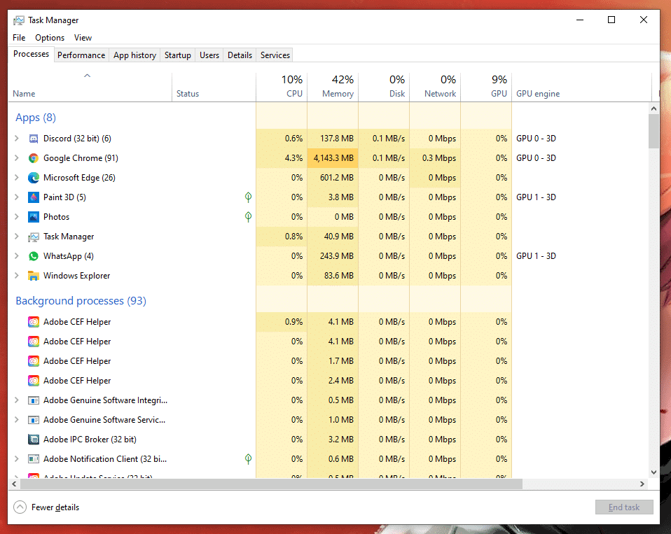 Discord disable automatic startup via task manager 1