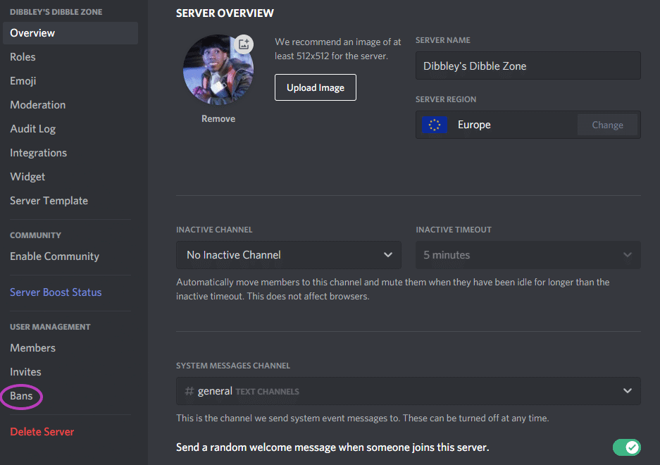 How To Unban Someone From Discord Server 3a