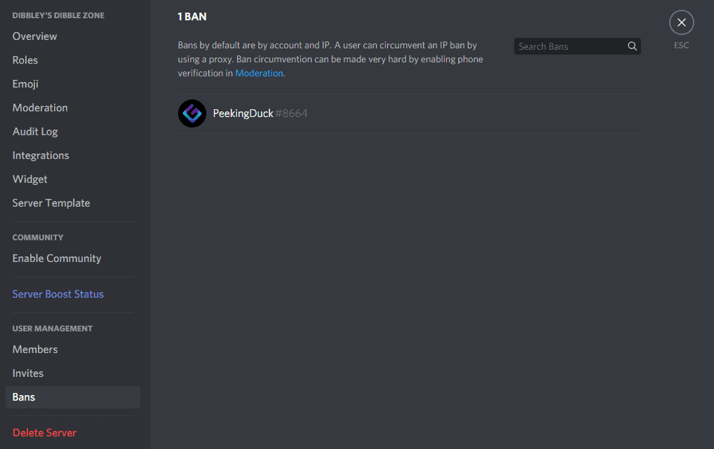 How To Unban Someone From Discord Server 4