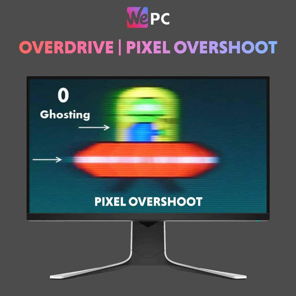 Monitor Overdrive Pixel Overshoot