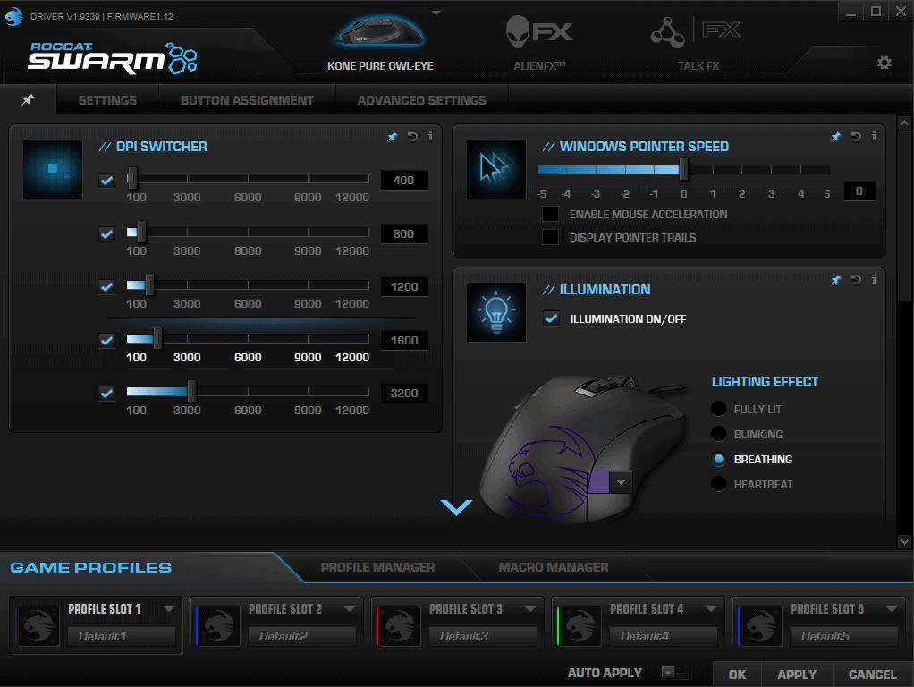 Roccat Swarm 1