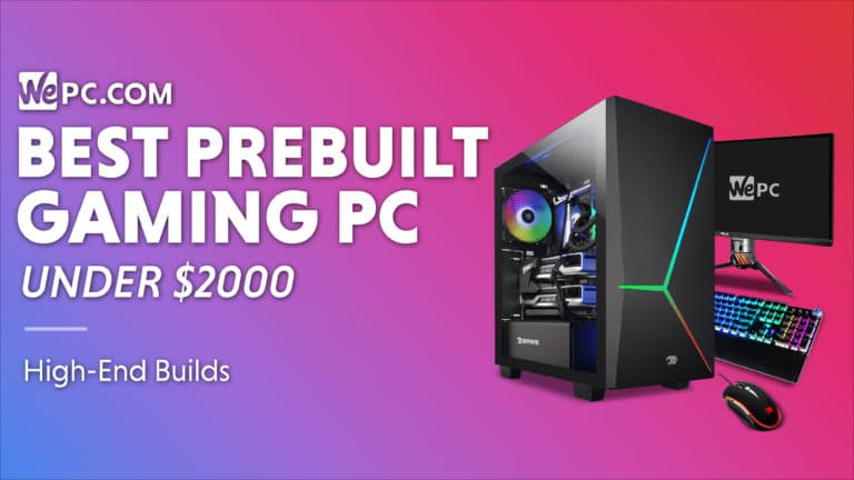 WePC Best Prebuily Gaming PC under 2000