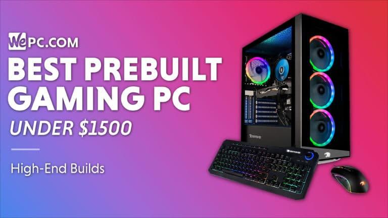 Best prebuilt gaming PC under 1500 01