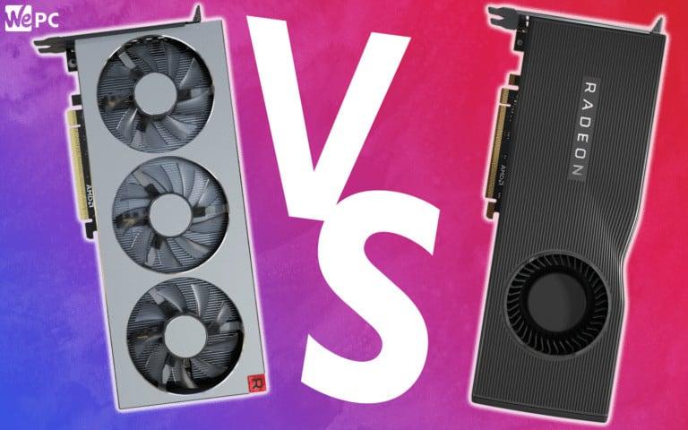WePC Radeon vii VS 5700 XT