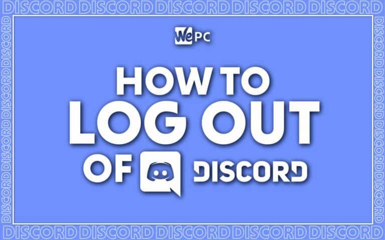 WePC how to log out of discord feature image 01