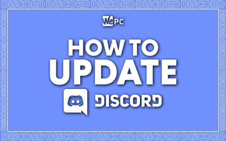 WePC how to update discord feature image 01