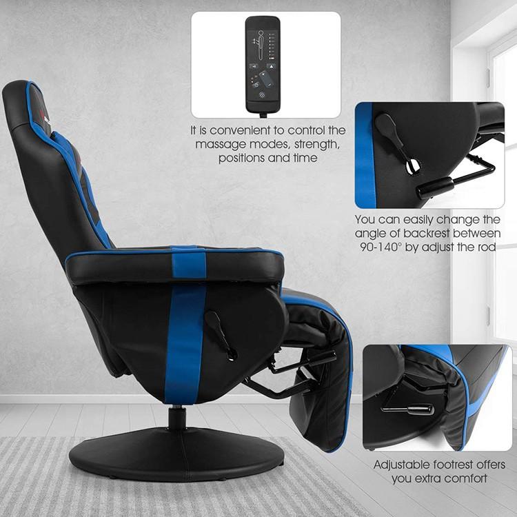 Goplus Massage Gaming Chair