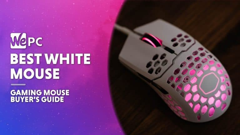 WEPC Best white gaming mouse Featured image 01