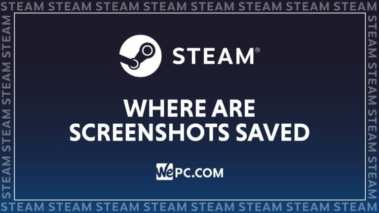 WePC STEAM where are screenshots saved 01