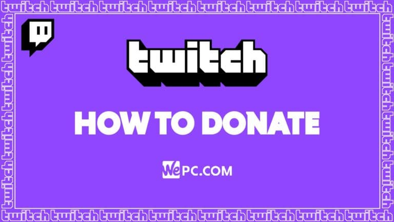 WePC Twitch how to donate 01