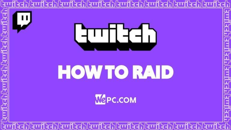 Twitch how to raid