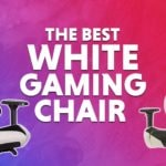 WePC best white gaming chair