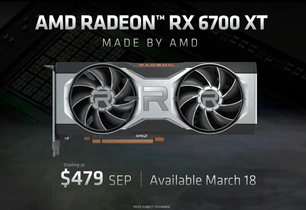 6700XT availability