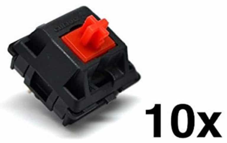 Cherry MX Red Key Switch MX1AL1NN