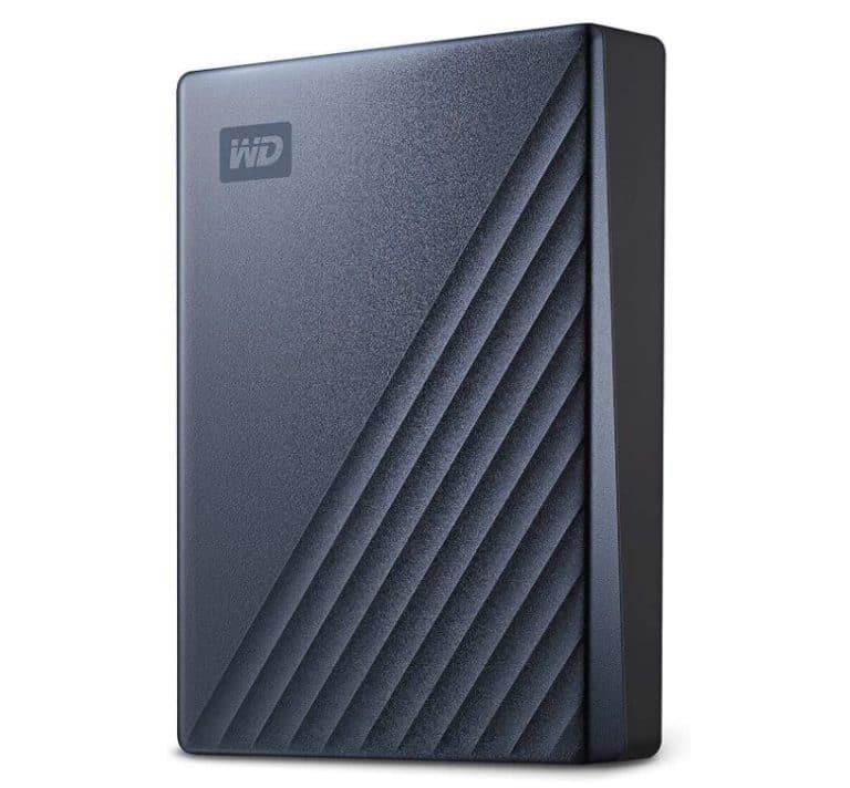 My Passport Ultra Blue Portable External Hard Drive