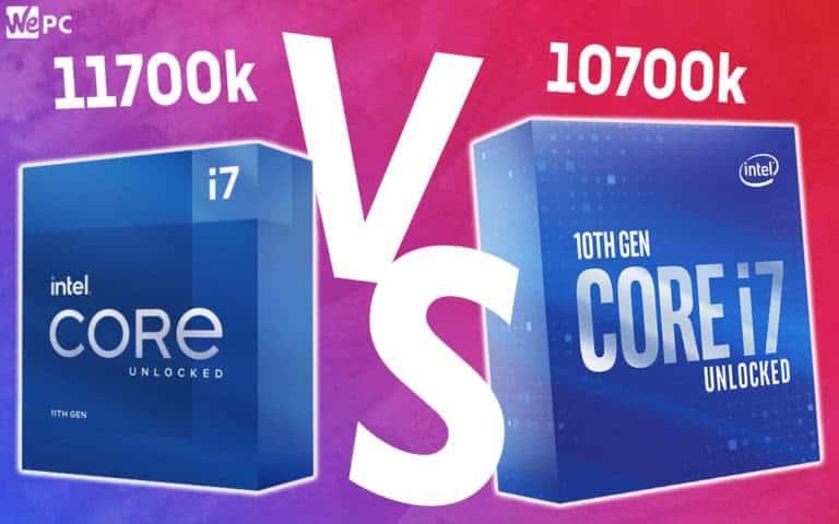 WePC 11700k VS 10700k 1