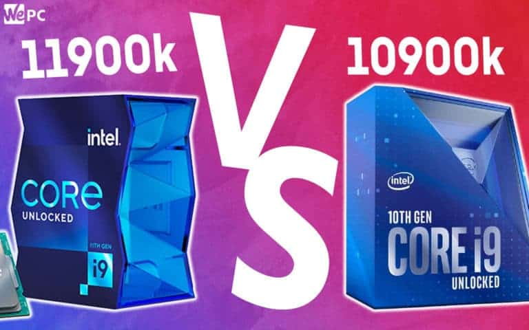 WePC 11900k VS 10900k