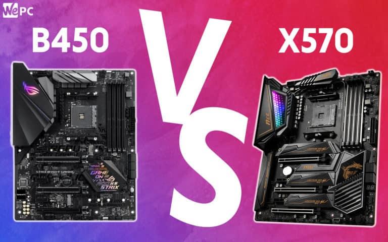 WePC B450 VS x570