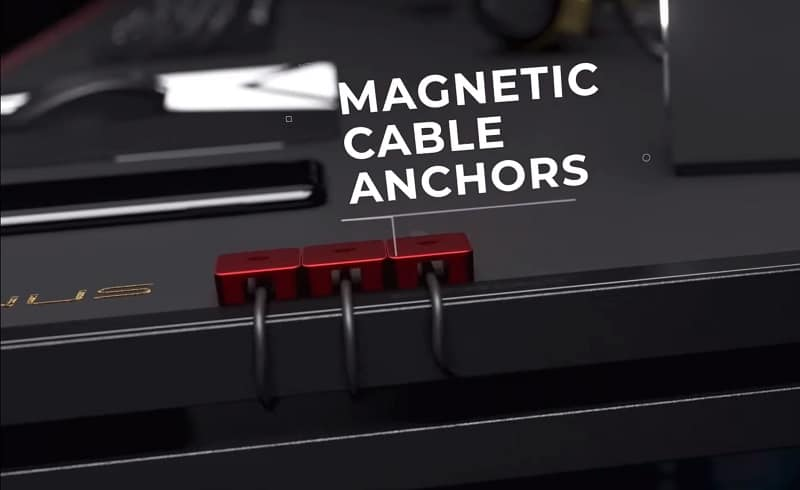 MAGNUS desk magnetic cable anchors