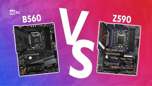 WePC B560 VS Z590