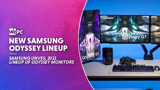 WEPC Samsung new odyssey lineup Featured image 01