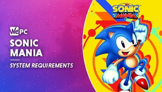 WEPC Sonic Mania System requirements Featured image 01