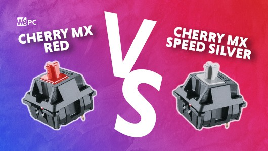WePC CHERRY MX RED VS CHERRY MX SPEED SILVER