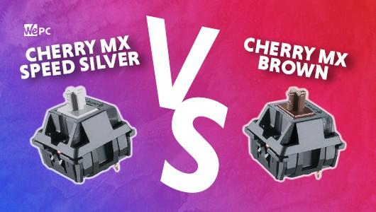 WePC CHERRY MX SPEED SILVER VS CHERRY MX BROWN