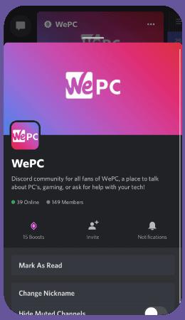 WePC Social Discord