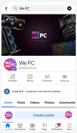 WePC Social FB