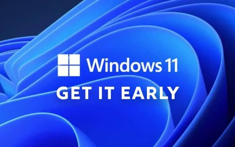 Windows 11 get it early