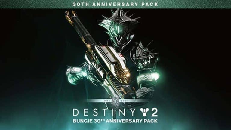 Destiny 2 30th Anniversary