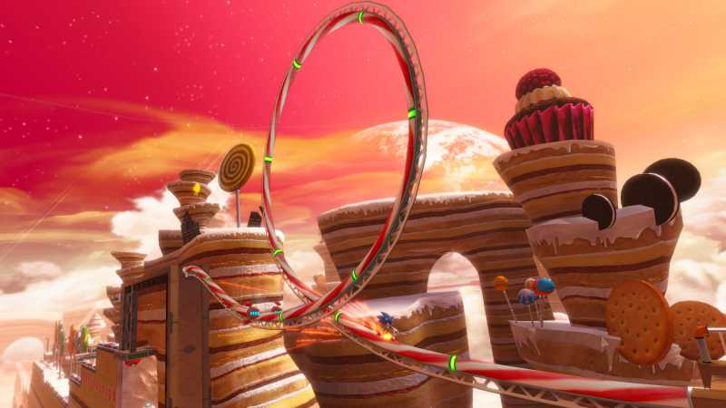 Sonic Colors Sweet Mountain