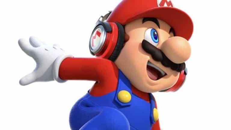 Super Mario Run Nintendo Switch Bluetooth Update Headphones