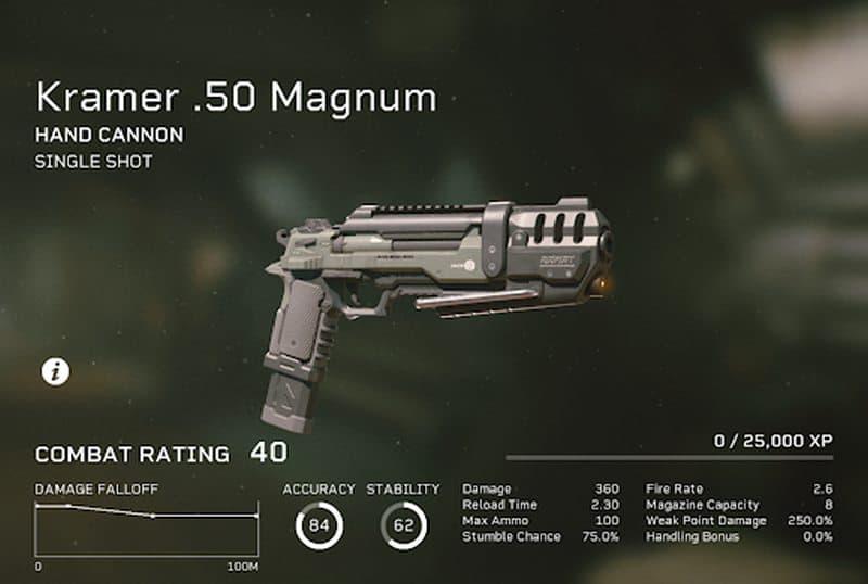 aliens fireteam magnum