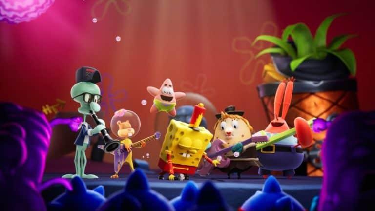spongebob squarepants the cosmic shake announced