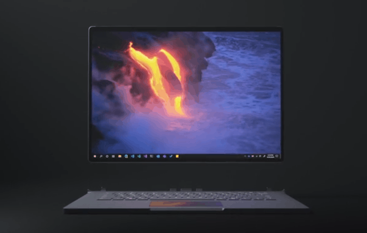 Surface Book 3 image, detached from its keyboard