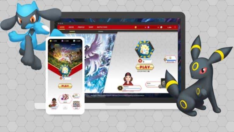Pokemon TCG Online Sunset